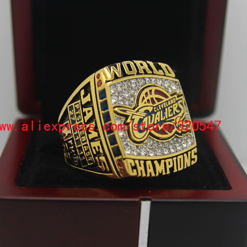 Ship Today 2016 Cleveland Cavaliers National Basketball Championship Copper Ring 8-14Size Engraved Inside Lebron James Fans Gift(China (Mainland))