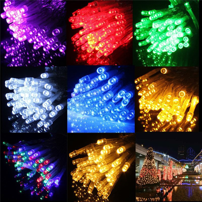 30 LED 3M Waterproof Battery Operated LED String Lights for Xmas Garland Party Wedding Decoration Christmas Flasher Fairy Lights(China (Mainland))