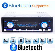 2015 New Digital Bluetooth Hands free Car Stereo Audio Music MP3 Player / FM radio / USB / SD with In Dash Slot AUX Audio Input