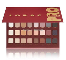 2014 New LORAC MEGA eyeshadow makeup lorac PRO palette 32 color eye shadow palette makeup set