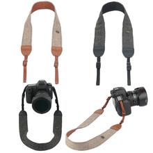 Buy Camera Shoulder Neck Vintage Strap Belt 100% Cotton Camera Strap Sony Nikon Canon Olympus DSLR Camera for $2.59 in AliExpress store