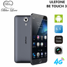Original Ulefone Be Touch 3 Mobile Phone 4G FDD LTE 5.5 inch MTK6753 Octa Core 3GB RAM 16GB ROM Android 5.1 13.0MP Fingerprint