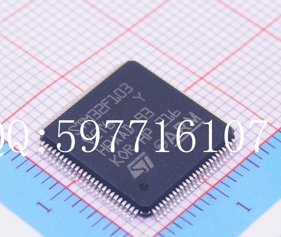 STM32F103VCT6 MCU 32-bit STM32F1 ARM Cortex M3 RISC 256KB Flash 2.5V/3.3V 100-Pin LQFP Tray(China (Mainland))