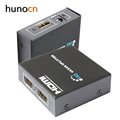 Hunocn HDMI Splitter 1X2 Full HD 3D Video 1X2 Split 1 in 2 Out Amplifier Dual