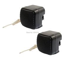 2 Pcs/lot Car Auto Audio Loud Dome Tweeter Speakers 500W Black(China (Mainland))