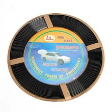 40 Ft Universal Car Door Guards 1280cm Auto DIY Black Bumper Strip Door Rubber Edge Protector Strips Trims Car Moulding(China (Mainland))