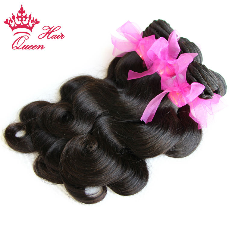 100% Brazilian Virgin Hair Body Wave Queen Hair Products 5pcs lot, 12-28 Grade 5A,100% Unprocessed Hair can be dyed<br><br>Aliexpress