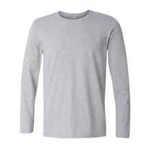 Plus size XS- XXL Classic Men T shirt Long Sleeve O neck Mens T-shirt Cotton Tees Tops Men Brand tshirt Sweatshirts()