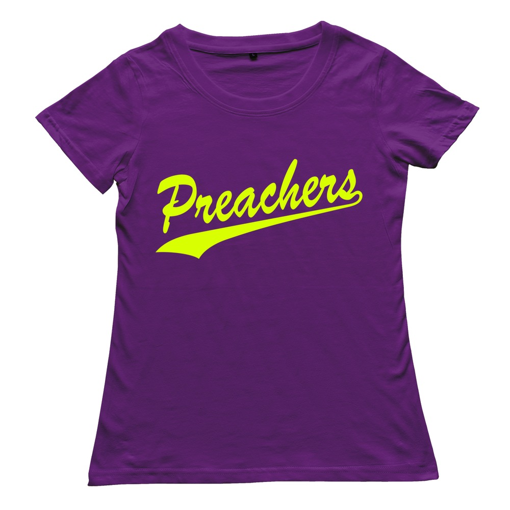 2015 cotton preachers t shirt leisure women tshirt drop