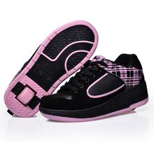 Child heelys Jazzy Junior girls boys heelys rollerskate shoes for children kids sneakers wheel shoes skate roller shoes