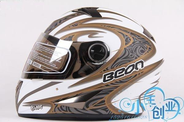 Freeshipping BCM001# BEON B-500 Classic Full Face Helmet Winter Helmet Racing Helmet International Version Motorcycle HelmetsN7