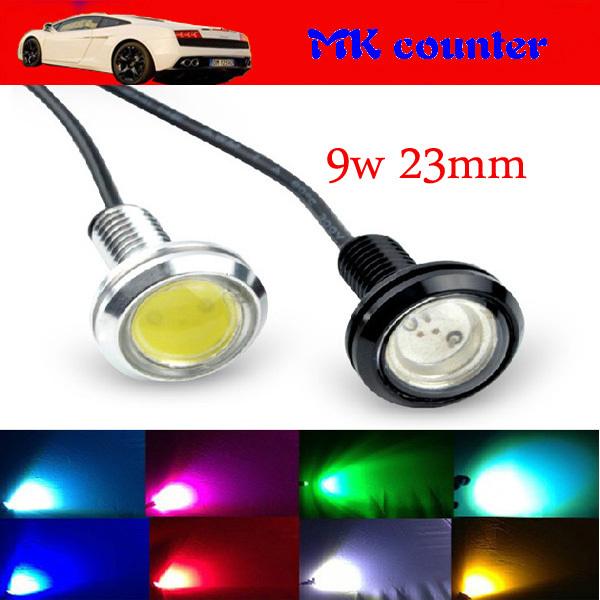 HK post10W High Power LED Larger Lens Ultra-thin car led Eagle Eye Tail light Backup Rear Lamp White Color 2786<br><br>Aliexpress