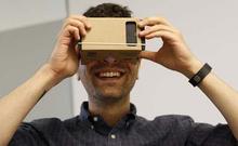 Di alta qualità diy google cartone realtà virtuale vr del telefono mobile 3d occhiali visori(China (Mainland))
