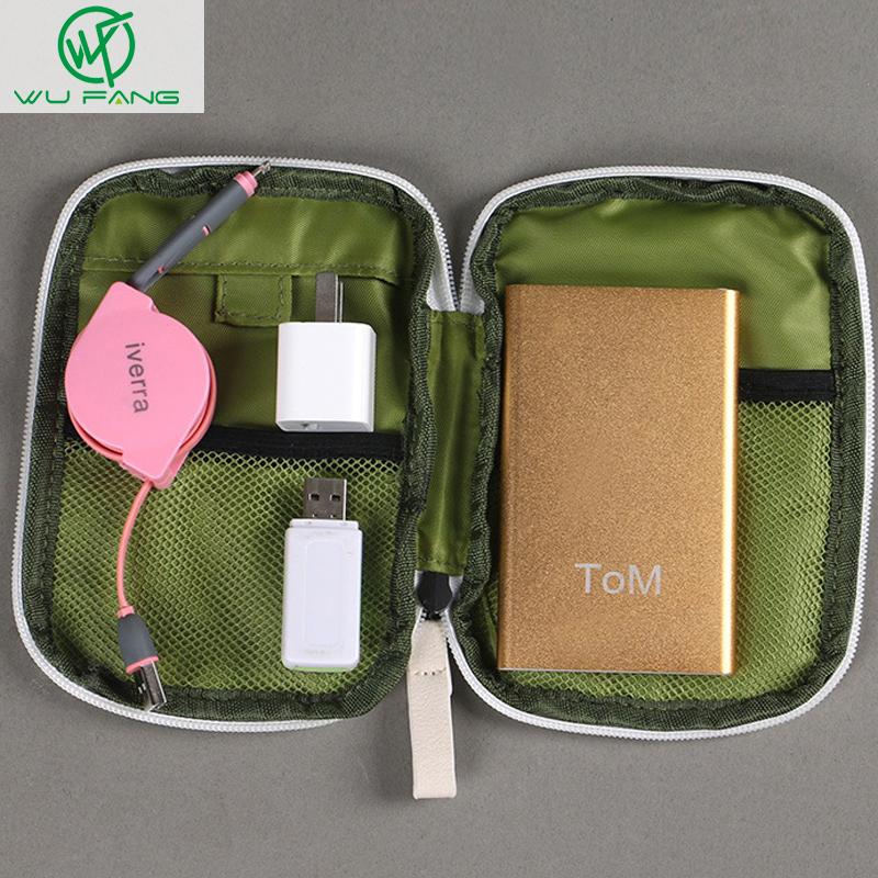 Simple Portable Digital Storage Bag Travel Data Lines U Disk Pack Waterproof Storage Bag Drop Resistance E2shopping(China (Mainland))