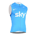 SKY Cycling Clothing Breathable quick dry clothes sleeveless Cycling Jersey Cycle bike vest Sportwear China Cheap