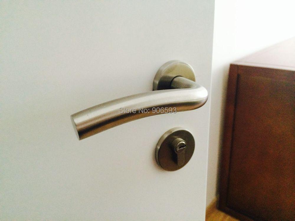 6pairs free shipping Modern stainless steel classic ocean wave door handle/handle/lever door handle/door pull<br><br>Aliexpress