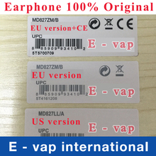 Foxconn 100% Genuine Original headset in-ear headphones earphone earpods With Mic for iphone 5 5SE 6 6s plus DHL free shippping(China (Mainland))