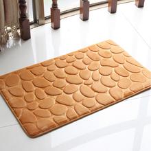 home decoration Flannel slow rebound carpet floor Super comfortable doormat kitchen bathroom bath mats absorbent non-slip(China (Mainland))