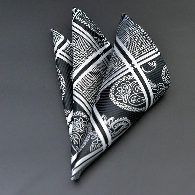 Facile-Match-Polyester-Mouchoir-Or-et-Noir-Paisley-Hommes-Mode-Plaid-Poche-Carr%C3%A9-Mouchoirs-pour-Hommes.jpg_640x640