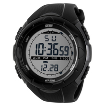 2014 New Men's LED Digital Military Watch,5ATM Flashion Outdoor Dress Sports Chronograph Watches Free Shipping (3 Colors)