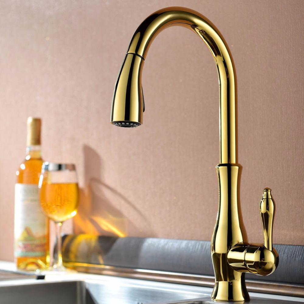 Acquista all 39 ingrosso online rubinetto della cucina a - Rubinetto cucina pieghevole ...