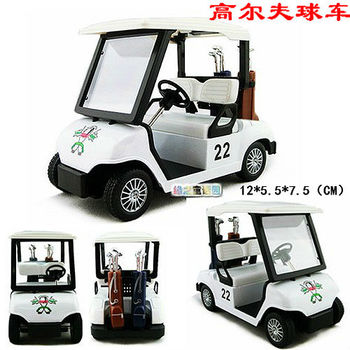 4 golf ball car alloy car model toy alloy car models toy