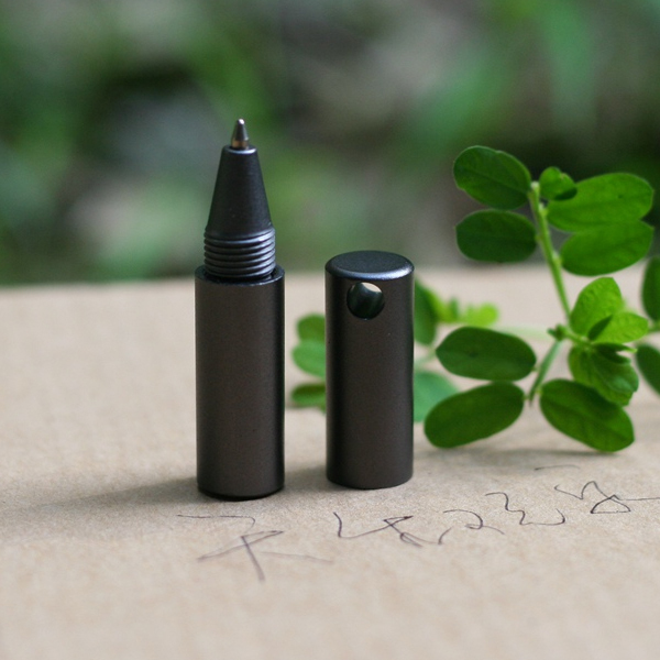 EDC18 Free shipping 0 No pen series light weight 6064 aluminum alloy /304 stainless steel smooth/outdoor products(China (Mainland))