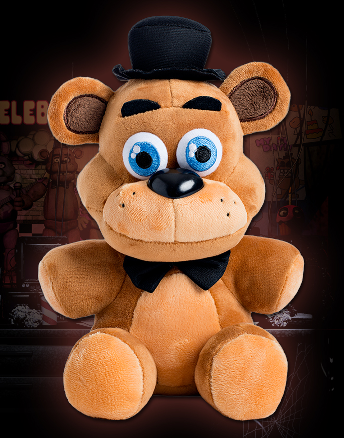 """in stock official five nights at freddy's 4 good quality plush doll toy 6.5"""" with fast free shipping"""