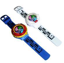 50PCS Yo-kai Watch Japan Anime Yokai Watch Lighting sound watch Medal Baby gifts By EMS