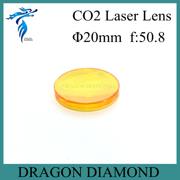 High Quality USA ZnSe Co2 Laser Lens 20mm Dia 50.8 Focus Length For Laser Cutting Machine(China (Mainland))
