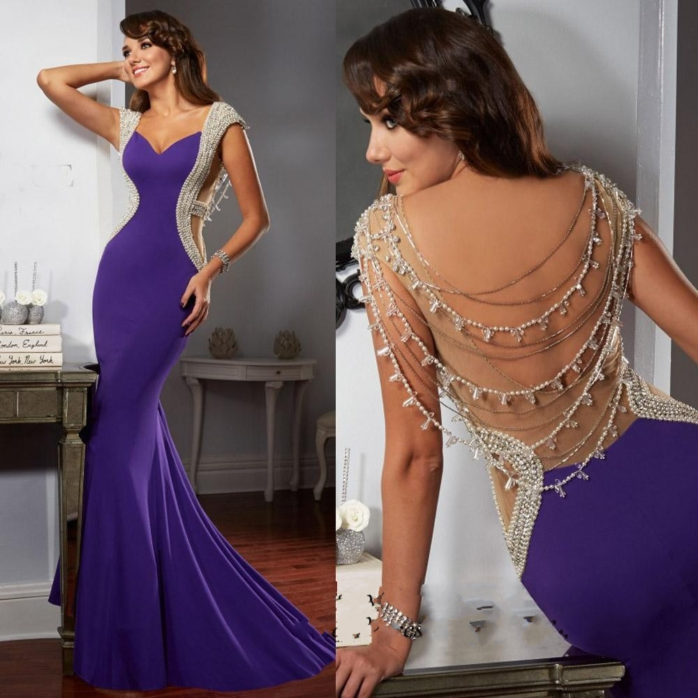 Compare Prices on Black and Purple Prom Dresses- Online Shopping ...