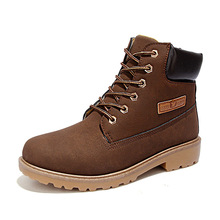 2016 Autumn Winter Brand Men Shoes Martin Boots Genuine Leather Warm Snow Boots Outdoor Casual Timber Boots Botas Hombre(China (Mainland))