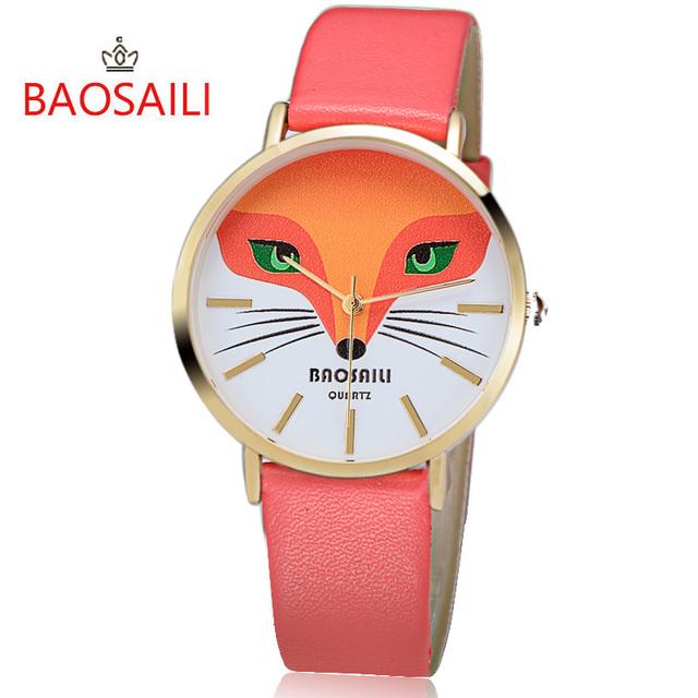 Zegarek damski BAOSAILI uroczy lisek różne kolory