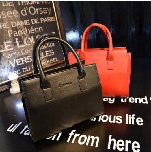 2015 Good quality new lady women shoulder bag Retro Pack handbag elegant one glossy shaping small - fashional accessories store