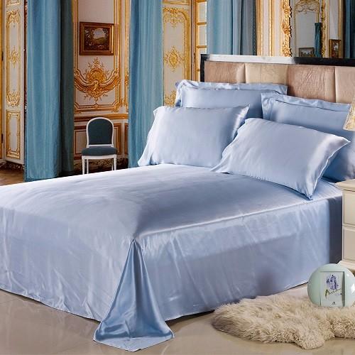50-light-blue-19-momme-seamless-silk-flat-sheets