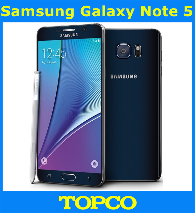 "Samsung Galaxy Note 5 N920A AT&T Original Unlocked GSM Android Mobile Phone 4GB RAM 32GB ROM Quad-core&Quad-Core 5.7"" 16MP(China (Mainland))"