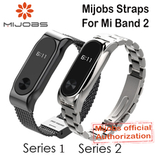 Buy Mijobs Metal Strap Xiaomi Mi Band 2 Straps Screwless Stainless Steel Bracelet Smart Band Replace Accessories Mi Band 2 Store) for $6.60 in AliExpress store