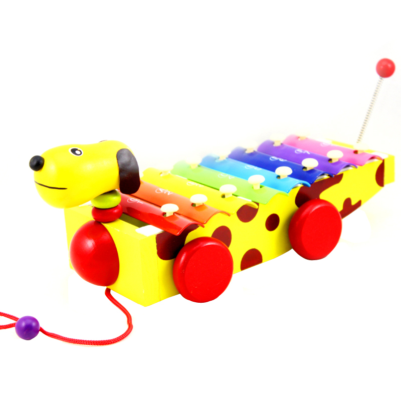 Baby Child Kids Educational Musical Toys Instrument 8 Scales Wooden Xylophone Baby Toys VB803 T15 0.5(China (Mainland))