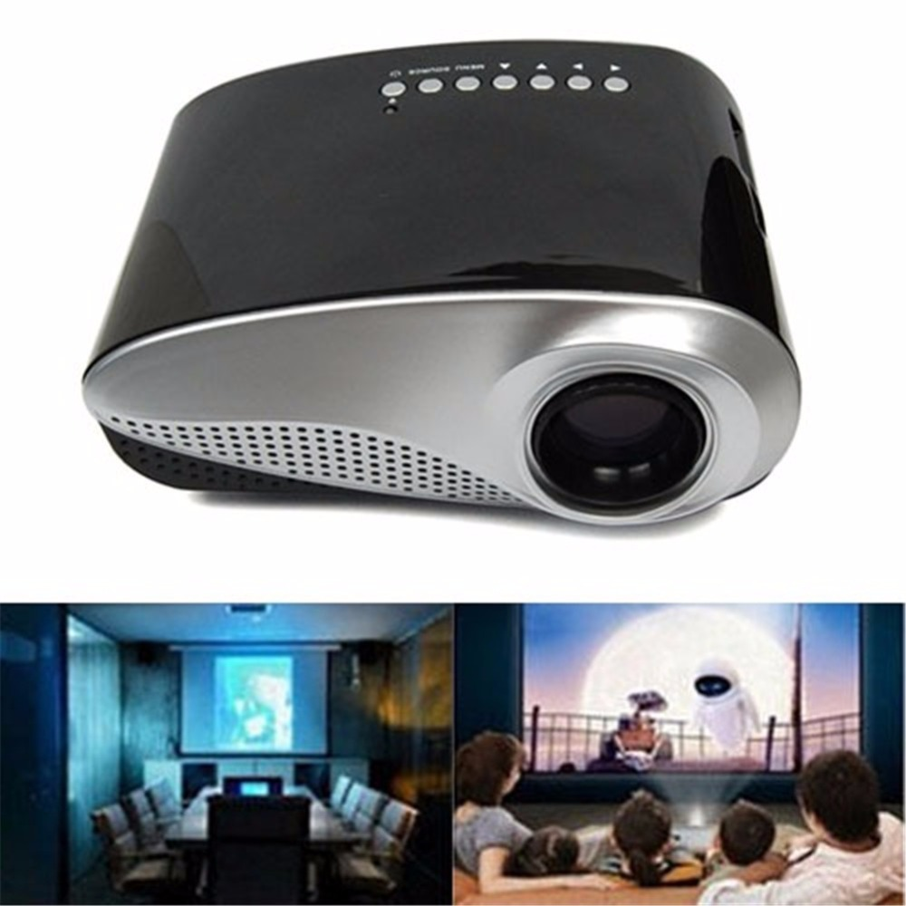RD-802 mini smaller multimedia Video and data projector Fashionable Home Theater For Video Games TV Movie(China (Mainland))