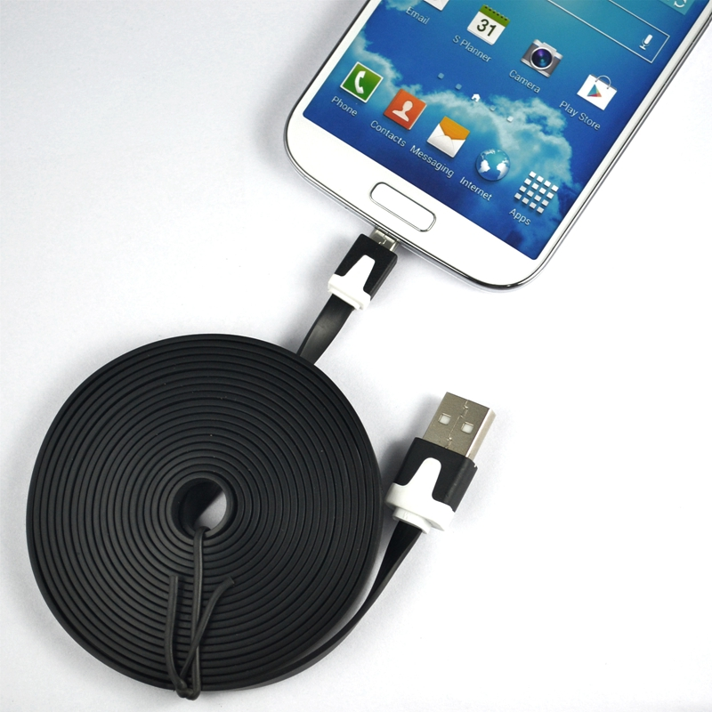 1pcs 10FT 3M Micro USB Cable Sync Data Charger Cord For LG G5 G4 G3 HTC Samsung Galaxy S7 S6 S4 Sony Android Charging Cables(China (Mainland))