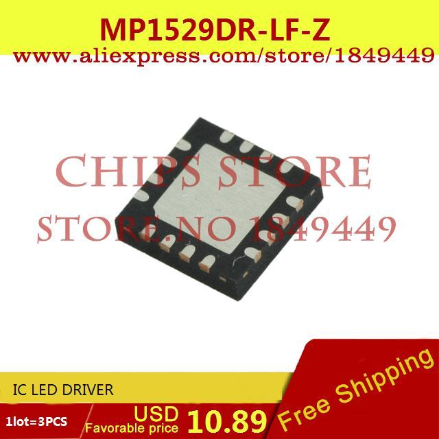 Free Shipping Hot Sale Smart Electronics Integrated Circuit MP1529DR-LF-Z IC LED DRIVER 1529 MP1529 3pcs(China (Mainland))