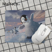 MaiYaCa New Designs pinguin Laptop Computer Mousepad Size for 18x22cm 25x29cm Small Mousepad(China)