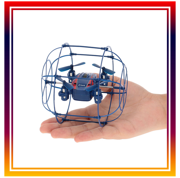 2.4G 6-Axis Gyro RTF 4CH RC Quadcopter Remote Control Mini Drone With Auto-return Headless Mode and Wall Climbing Free Shipping