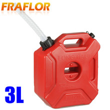 3L Spare Fuel Tank Plastic Jerry Can Diesel Gasoline Tank Container For ATV Motorcycle Ourdoor Vehicles Storage Cans(China (Mainland))