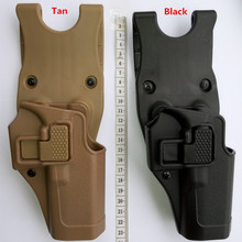 Buy Tactical Military Serpa Army belt holster BH CQC version of fast sinking quickly pull crackers for Glock Holster for $18.50 in AliExpress store