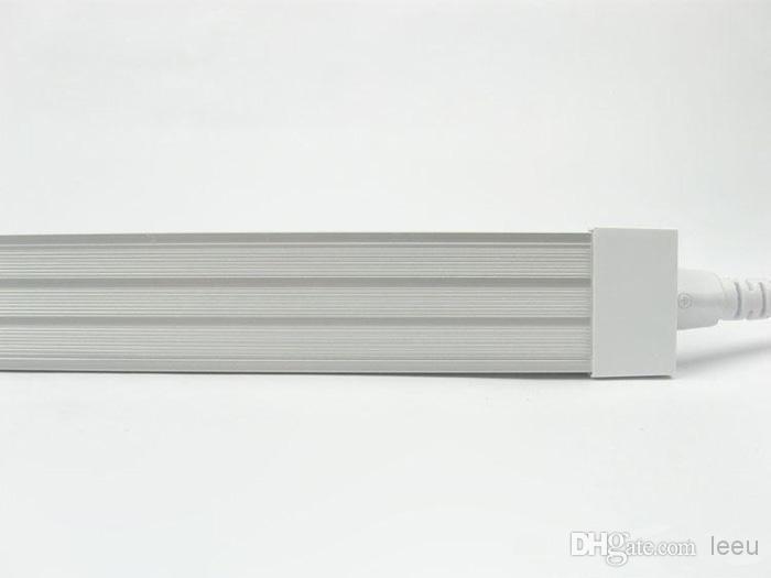 Ultra-helle 32W LED-Röhre 150cm mit integriertem Lampengehäuse V-förmig, doppelreihig