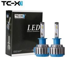 TC-X LED Car Headlight Bulbs H1 H7 H3 H11/H8/H9 HB3/9005 HB4/9006 H27 880 12V Error Free Super Bright Auto Lights Conversion Kit(China (Mainland))