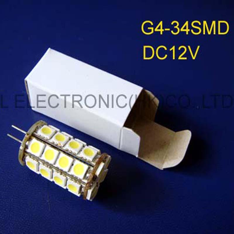 High quality DC12V G4 LED lamps,G4 led Crystal lights LED GU4 lamp 12VDC G4 bulb G4 DC12V LED Downlights free shipping 20pcs/lot(China (Mainland))