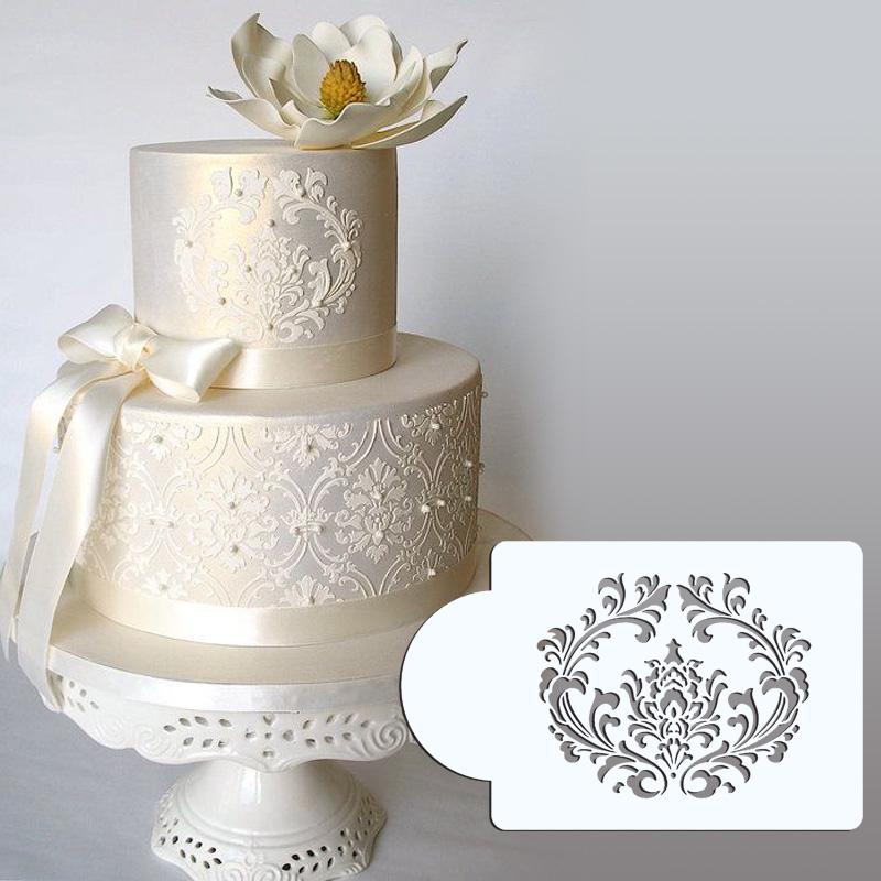 Cake Stencil Designs Free : 3.75