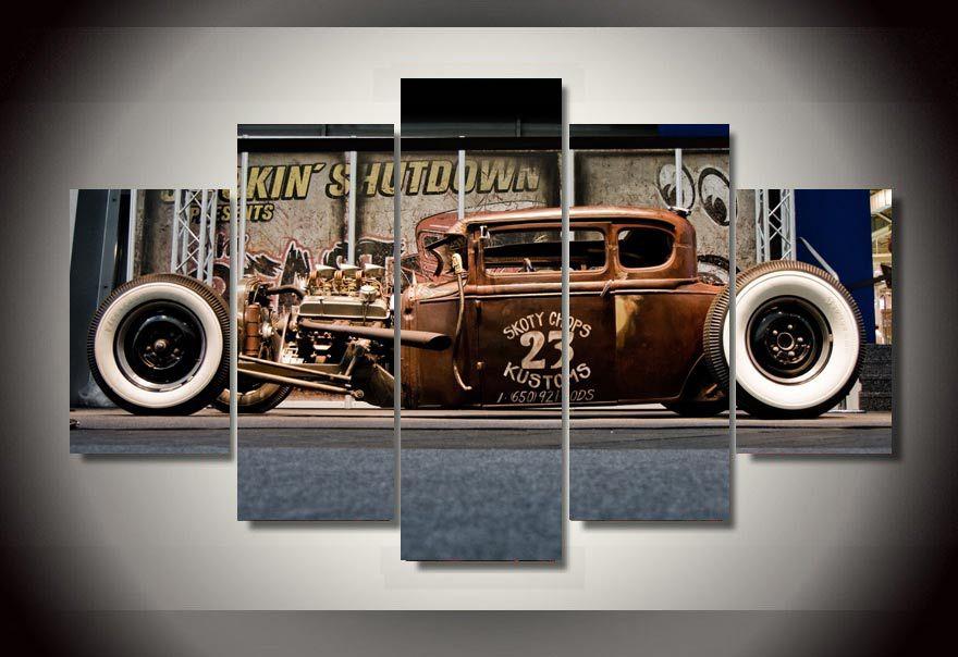 Online kopen wholesale classic car posters uit china classic car posters groothandel - Trendy kamer schilderij ...